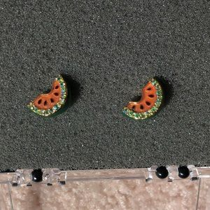 JUICY COUTURE watermelon earrings